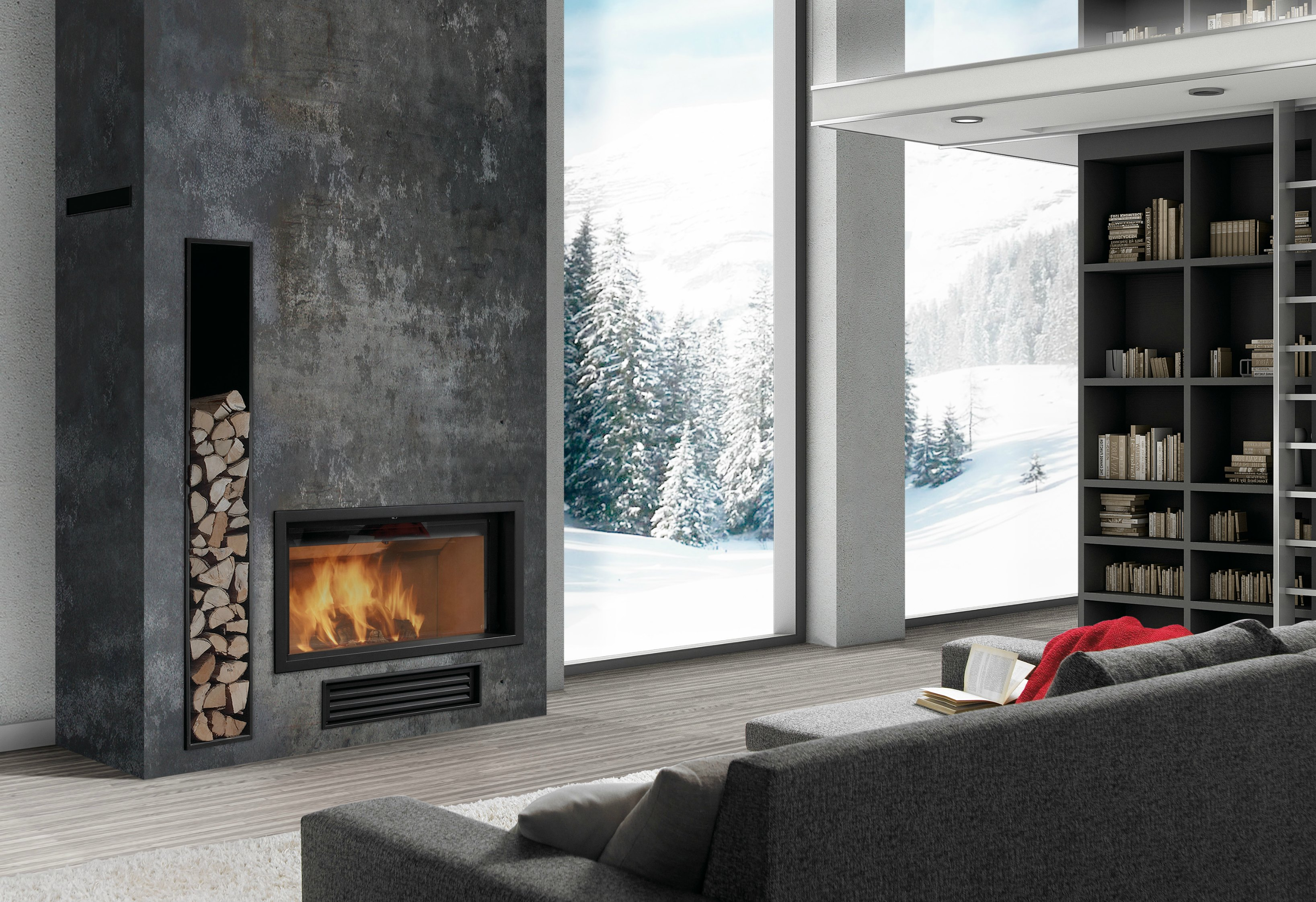 Rocal G450 Insert Stove