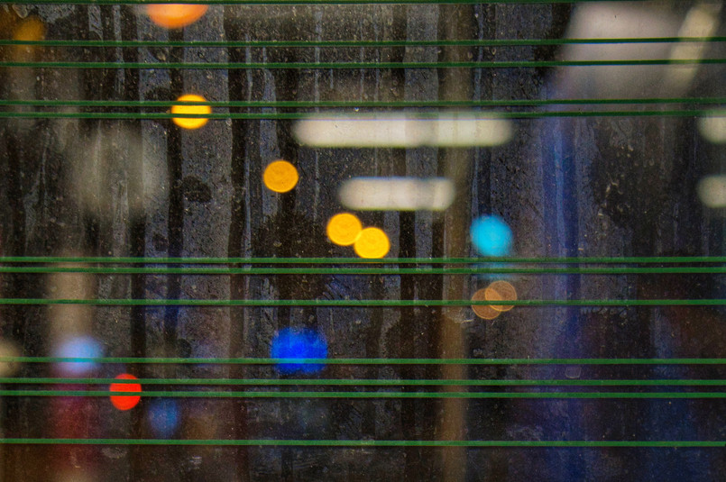 "Bastian Peter fine art street photography: ""Nightlife abstract"""
