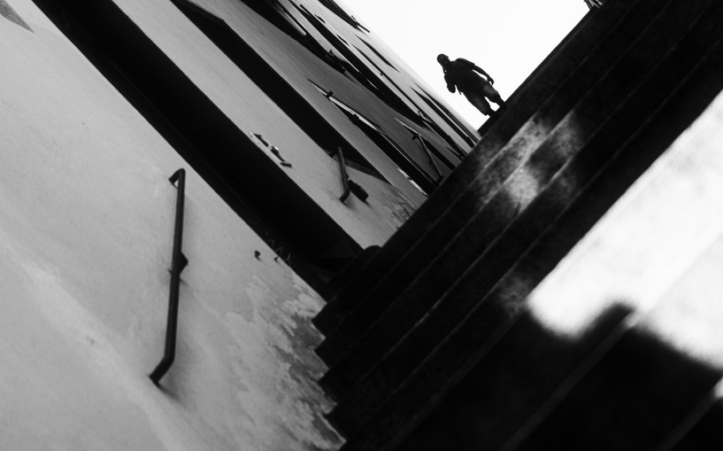 "Bastian Peter fine art street photography: ""Oldtown Vertigo"""