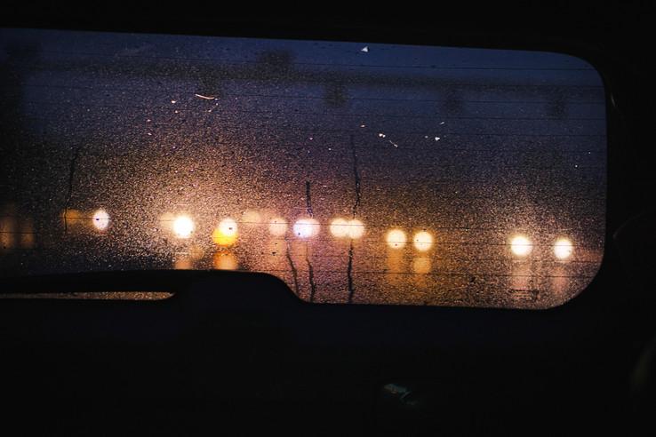 "Bastian Peter fine art street photography: ""Autobahn"""