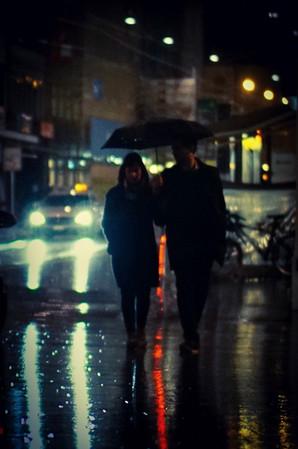 "Bastian Peter fine art street photography: ""October Night"""
