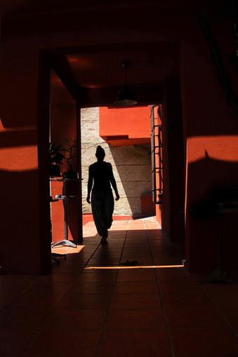 "Bastian Peter fine art street photography: ""Red House"""