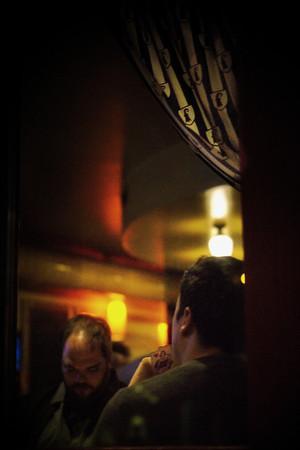 "Bastian Peter fine art street photography: ""The Cardplayer"""