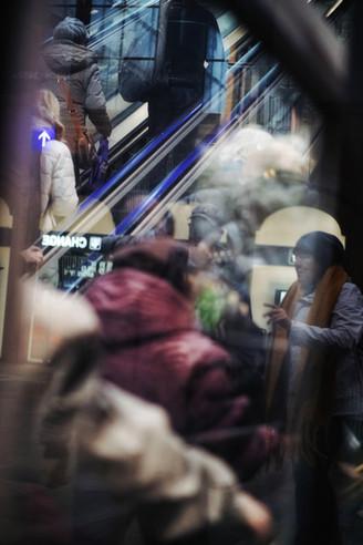 "Bastian Peter fine art street photography: ""Traffic"""