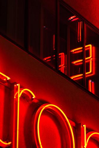 "Bastian Peter fine art street photography: ""Neon Desire"""""