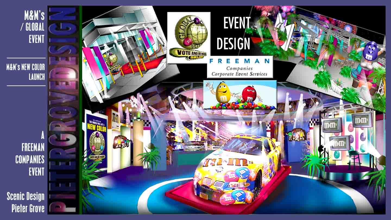 SET DESIGN - PIETER GROVE- Las Vegas