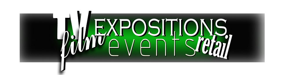 TV | Film }Expositions | Events | Retail