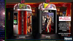 Photo Opportunity Kiosk  - Planet Hollywood - Pieter Grove - Las Vegas