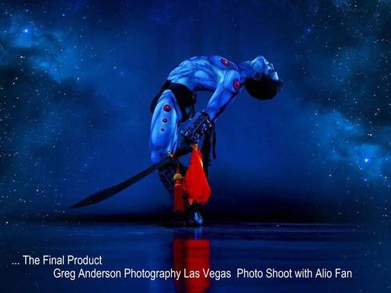 Behind the Scenes: Alio Fan & Greg Anderson Photography - Las Vegas