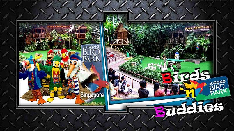 BIRDS 'n BUDDIES - AllStar Bird Show - Jurong Bird Park, Singapore Created/ Directed by Pieter Grove - Las Vegas