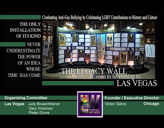 The Legacy Wall is coming to Las Vegas from Chicago