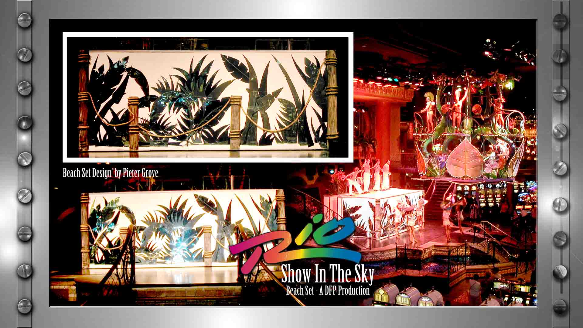 SET DESIGN - PIETER GROVE -LAS VEGAS