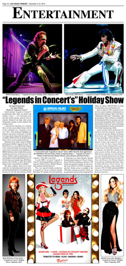 Holiday Show Review Legends 2019