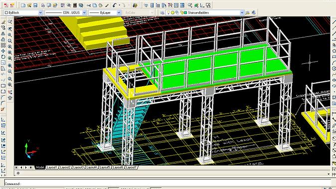 TEASE_3D House Platform Cad Model View.p