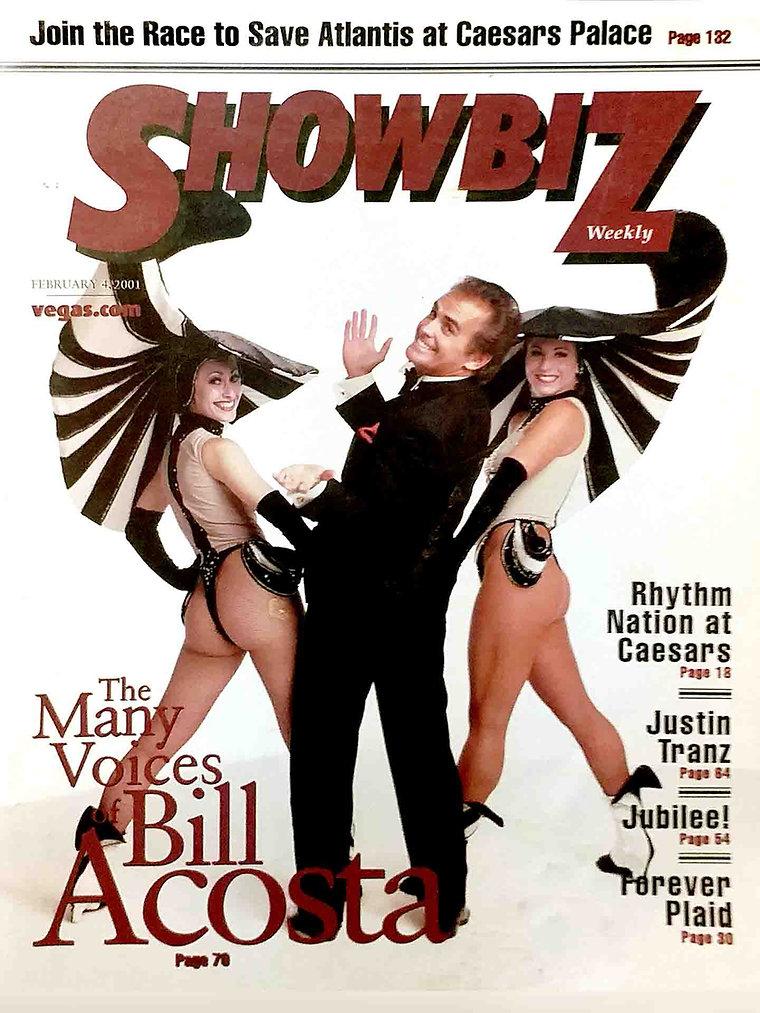 Bill Acosta_ Entertainment Magazine Cove
