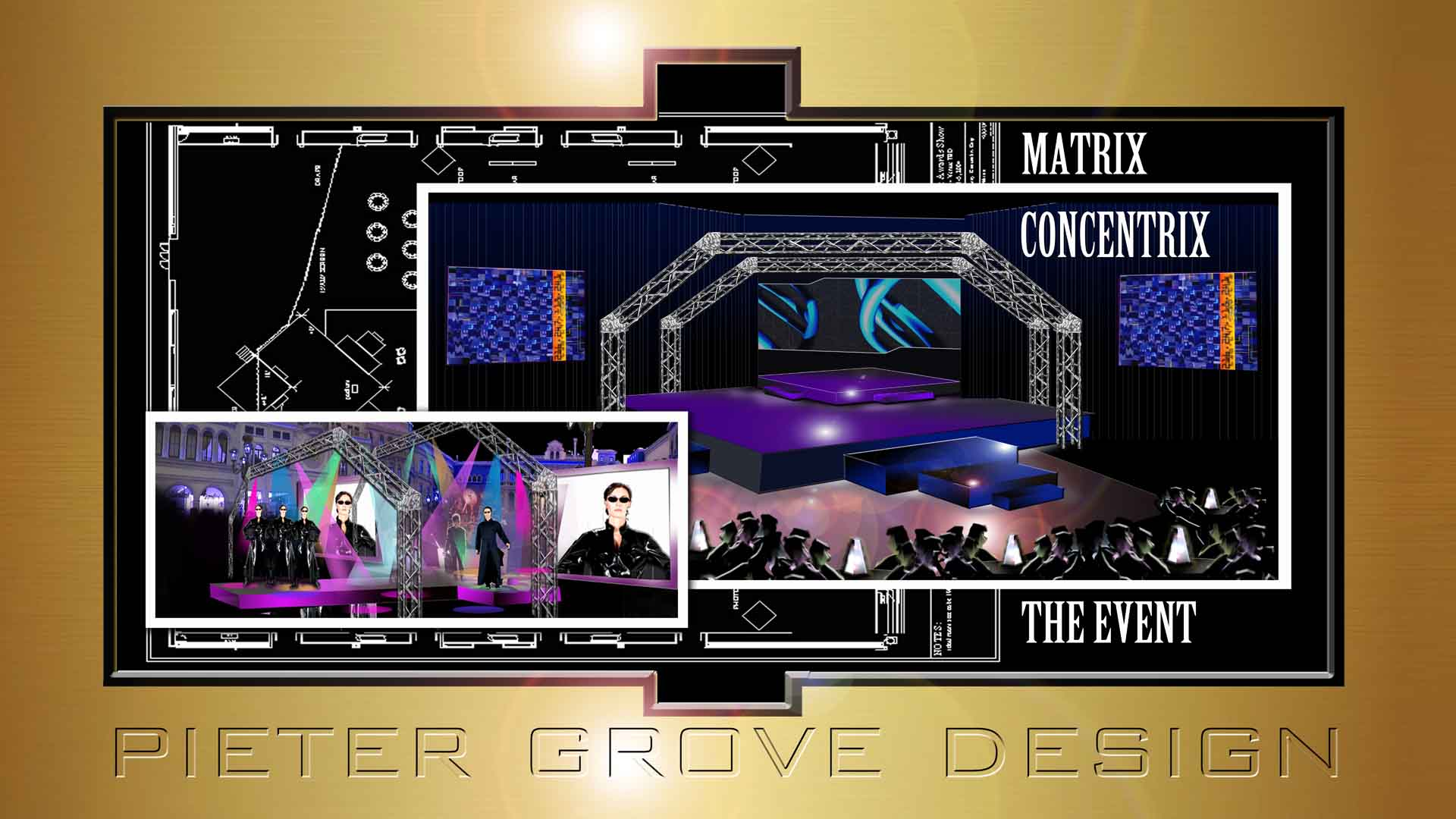 SET DESIGN - PIETER GROVE- Las Vegas