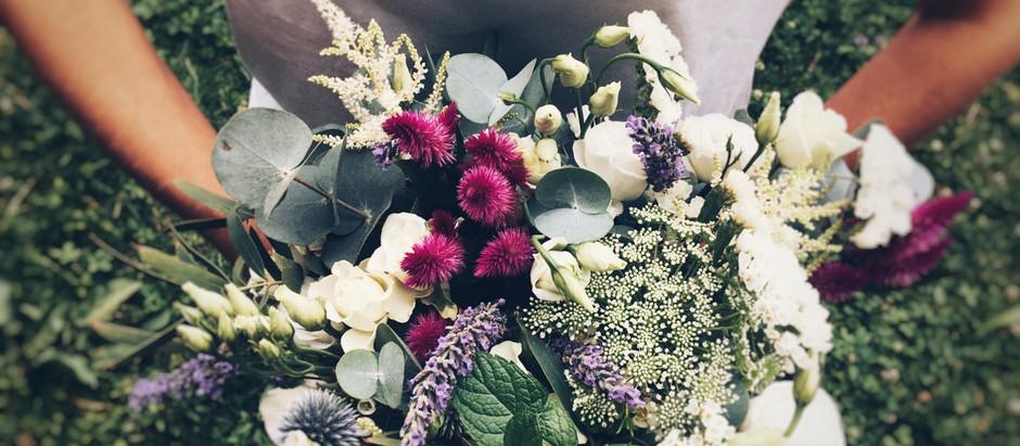 Amour. Et fleurs fraîches