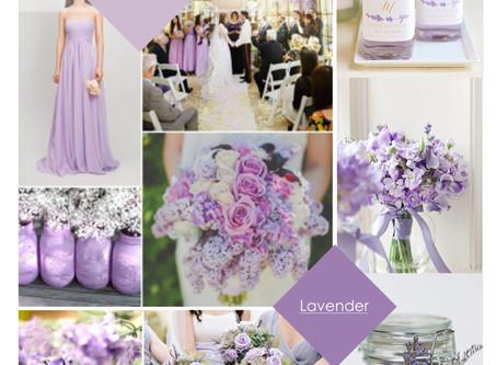 Lilac & Lavender Wedding Theme
