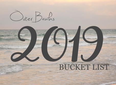 Bucket List - May 2019 List