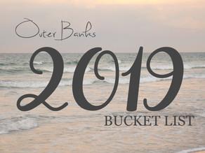 Bucket List - July 2019