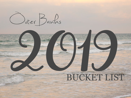 Bucket List - July 2019