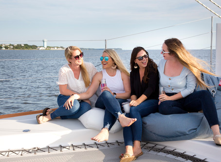 Date Like You're on Vacation: Surfer Girl Sailing in Duck
