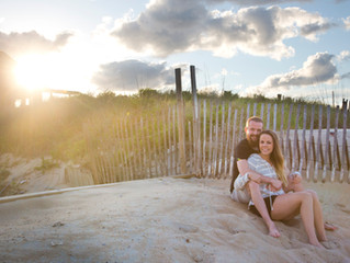 Marcie & Jeremy   Outer Banks Engagement Photographer