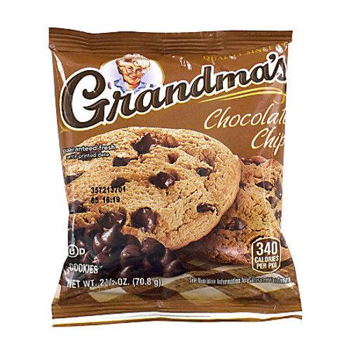 Snacks - 2 snack packs of cookies