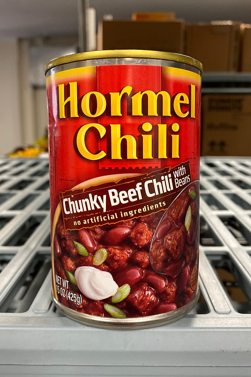 Chili with Beans – Canned – 15 oz. $1.50 USD