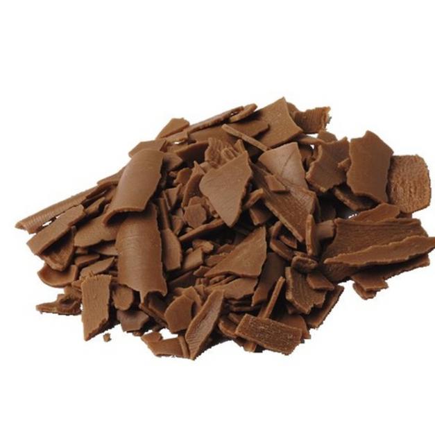 melkchocolade schilfers