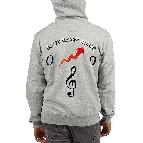 BottomLyne Music Mens Champion Hoodie