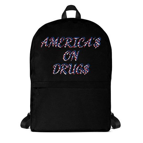 AMERICA'S ON DRUGS Backpack