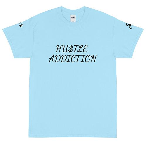 HUSTLE ADDICTION Short Sleeve T-Shirt