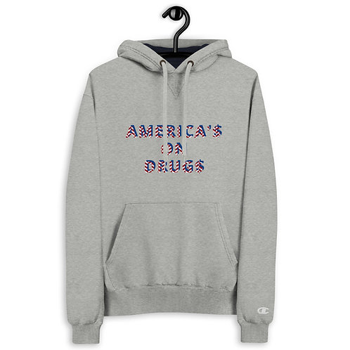 AMERICA'S ON DRUGS Champion Hoodie