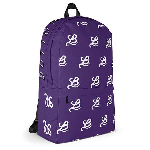 BottomLyne Music Purple Grapes Backpack