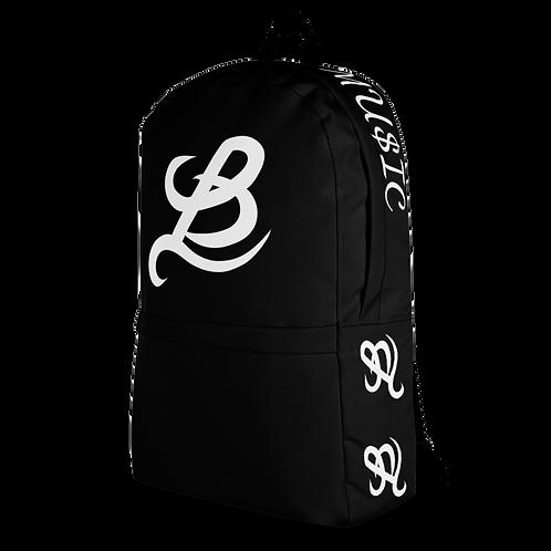 BottomLyne Music Boss Black Backpack