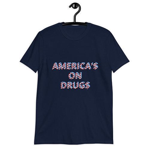 AMERICA'S ON DRUGS Short-Sleeve T-Shirt