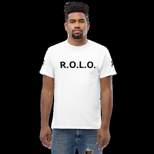 Men's heavyweight R.O.L.O. tee