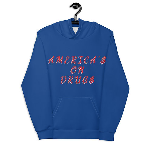 AMERICA'S ON DRUGS Unisex Hoodie