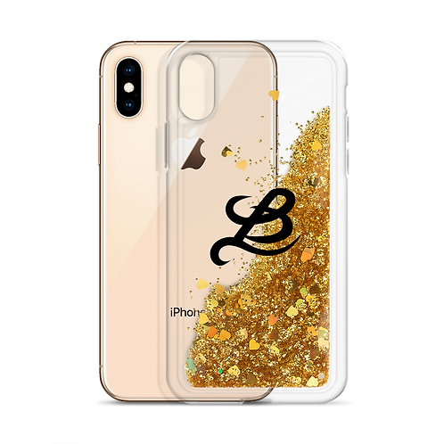 BottomLyne Music Liquid Glitter Phone Case