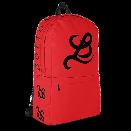 BottomLyne Music Red/Black Backpack