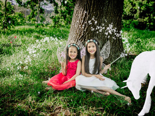Fairy Session: Gia & Cara