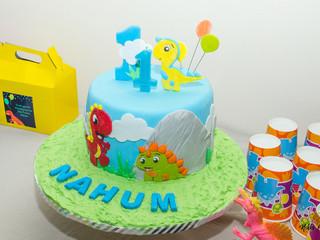Nahum turns 1