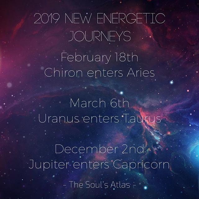 2019 New Energetic Journeys