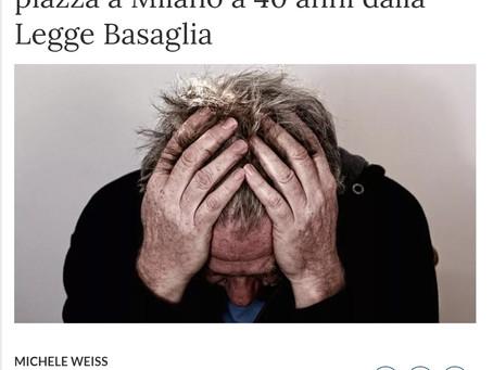 Rassegna stampa - In piazza a Milano a 40 anni dalla legge Basaglia