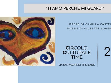 Il Timé riprende in presenza: un incontro tra arti figurative e poesia