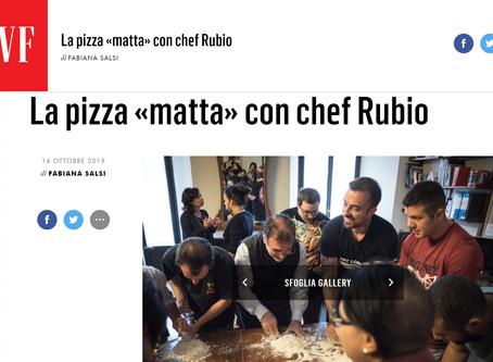 """Rassegna stampa - La pizza """"matta"""" con Chef Rubio"""
