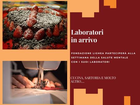 I laboratori di Fondazione Lighea tra gli eventi della Settimana della Salute Mentale
