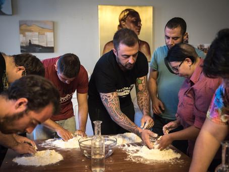 Chef Rubio ospite in una delle comunità di Fondazione Lighea