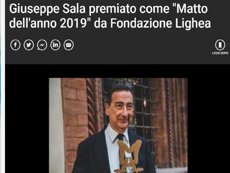 Rassegna Stampa - Sala premiato da Fondazione Lighea